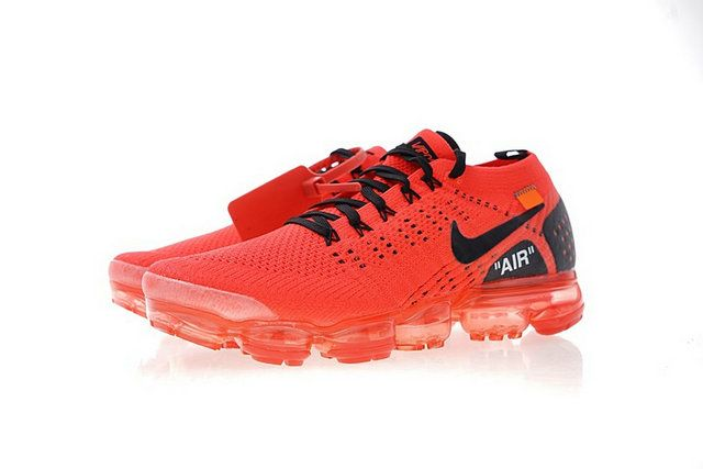 c2b3092d6c85 Off-White X Nike Air Vapormax Flyknit 2 0 Blood Red Black 942842-006 ...