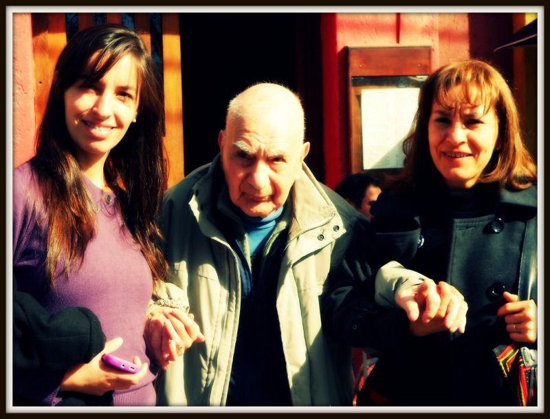 Lali, el abuelo Domingo y la tina