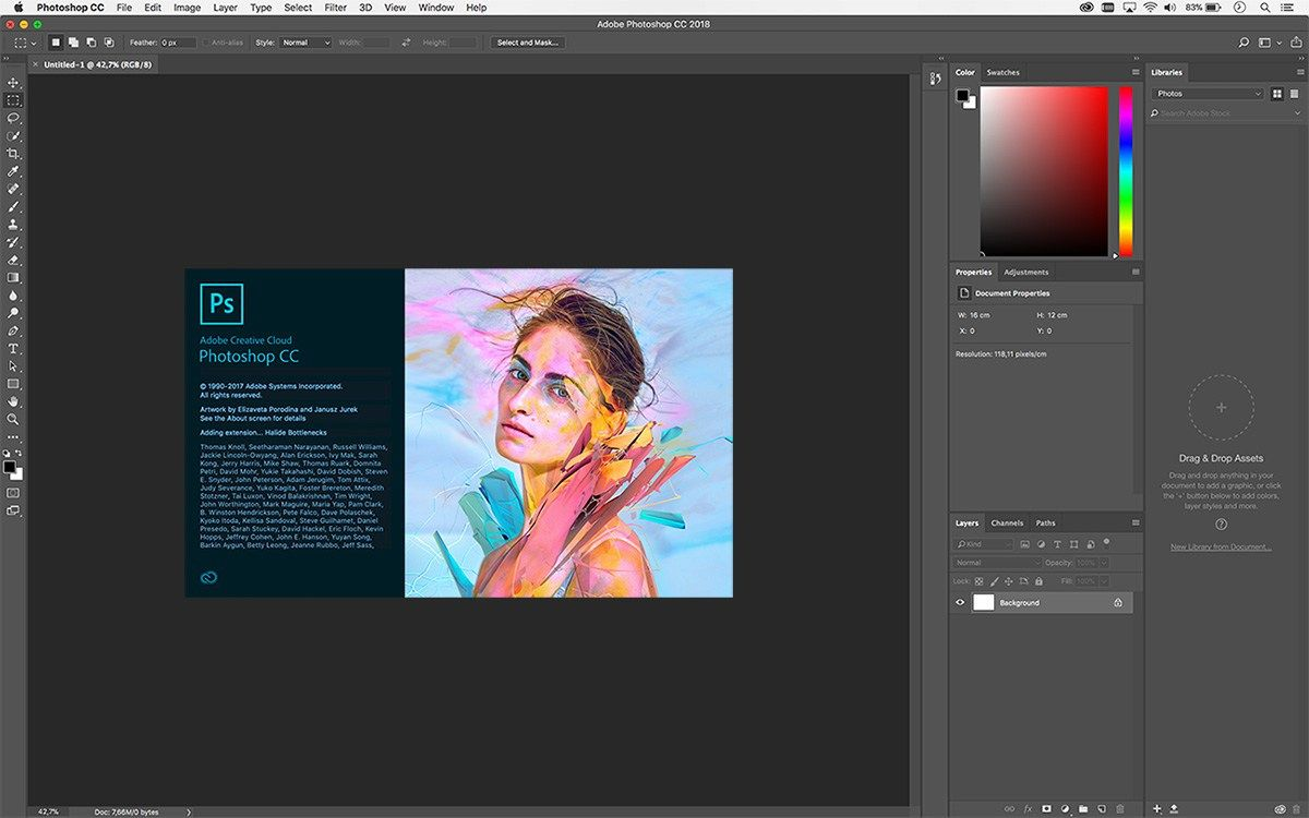 adobe photoshop cc 2018 crack version