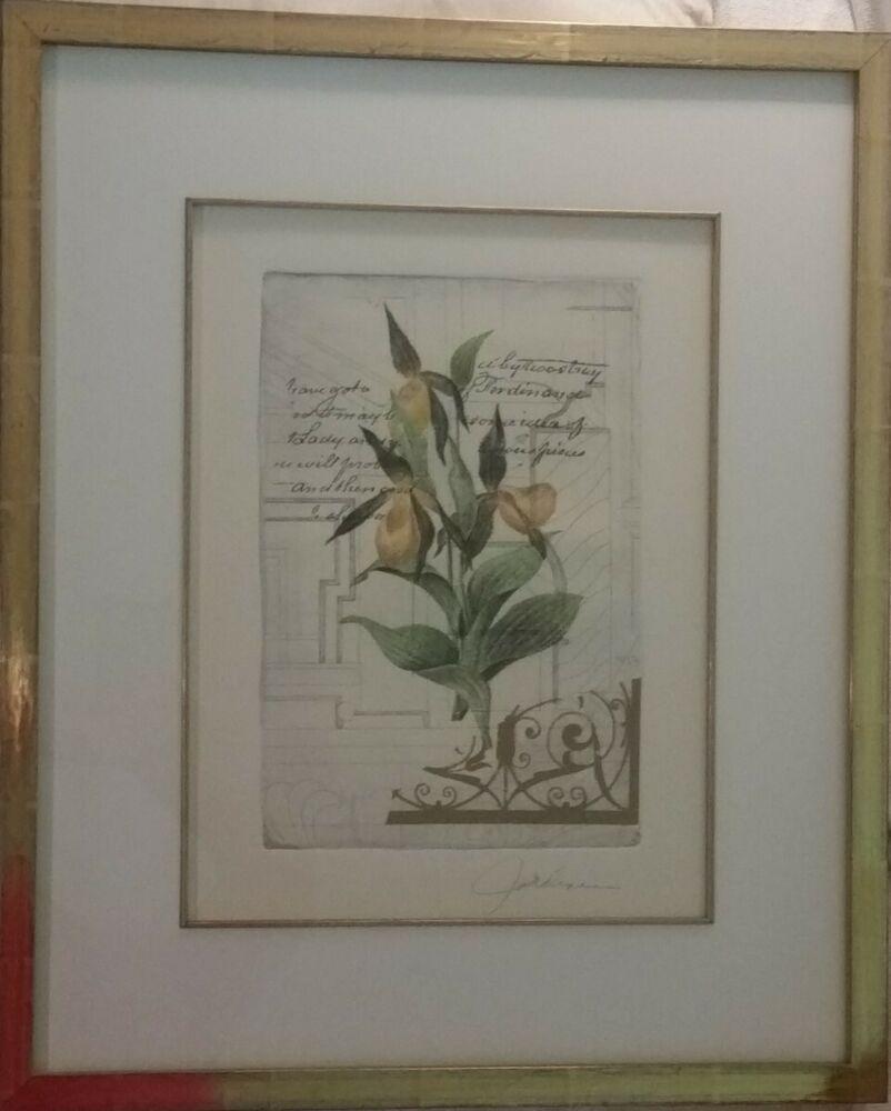 """Jardine One Solution Sold: UP FOR AUCTION... ORIGINAL Listed Artist Liz Jardine """"Les"""