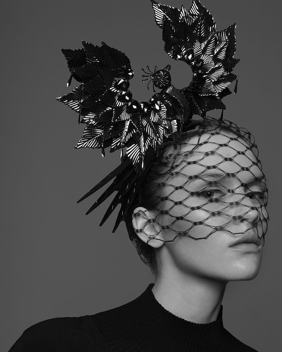 Headdress and style by Yana Markova / Photo by Lev Efimov