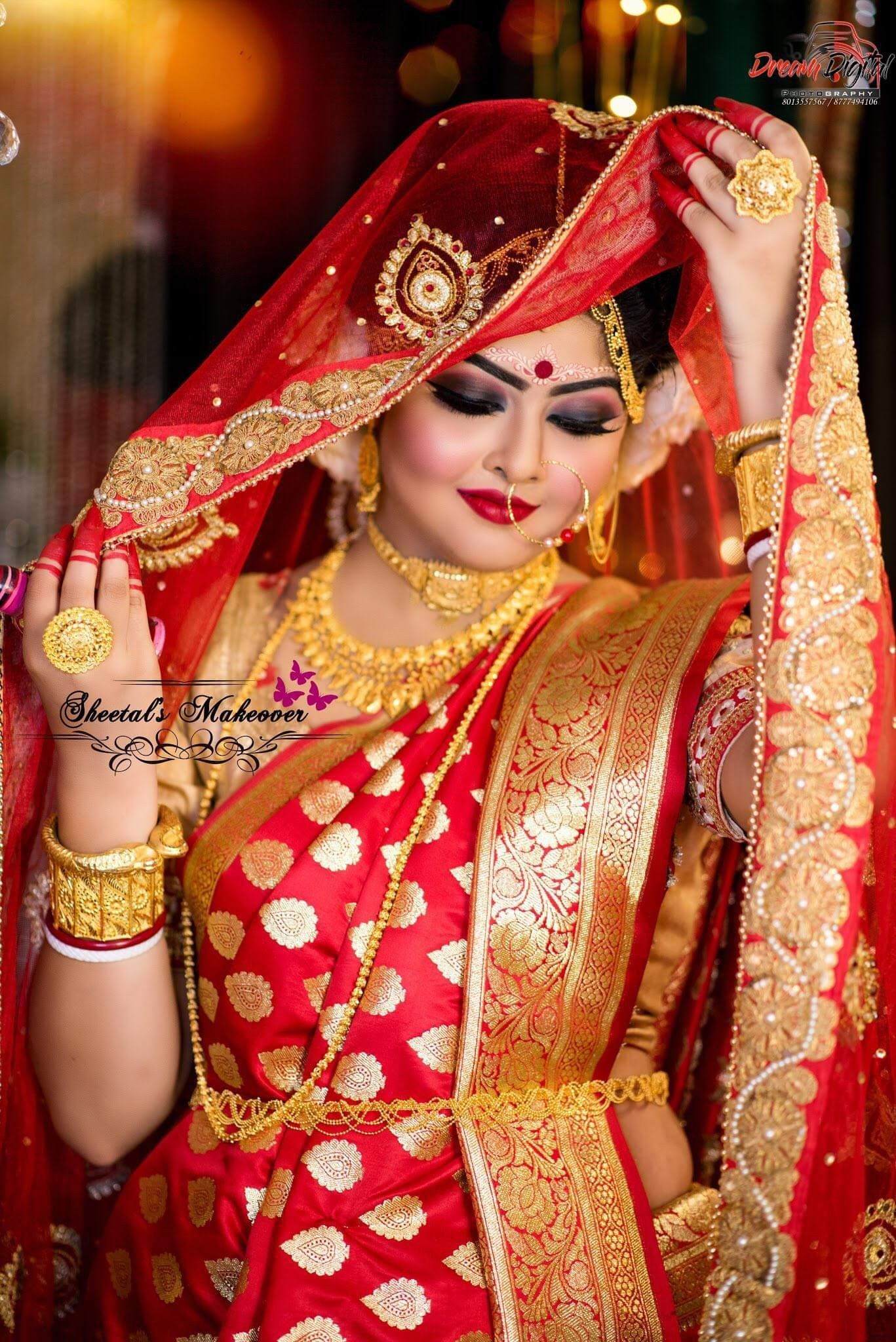 Beautiful bengali bride in 2020 indian wedding bride