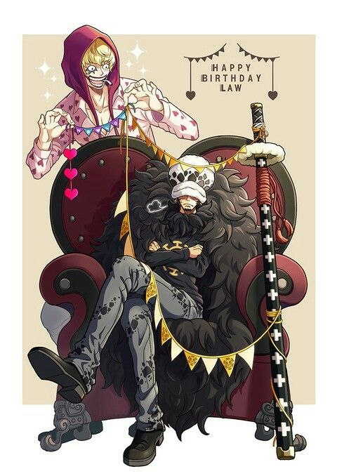 Trafalgar D Water Law Corazon Cora San Donqixote Rosinante One Piece One Piece Comic One Piece Anime One Piece Manga
