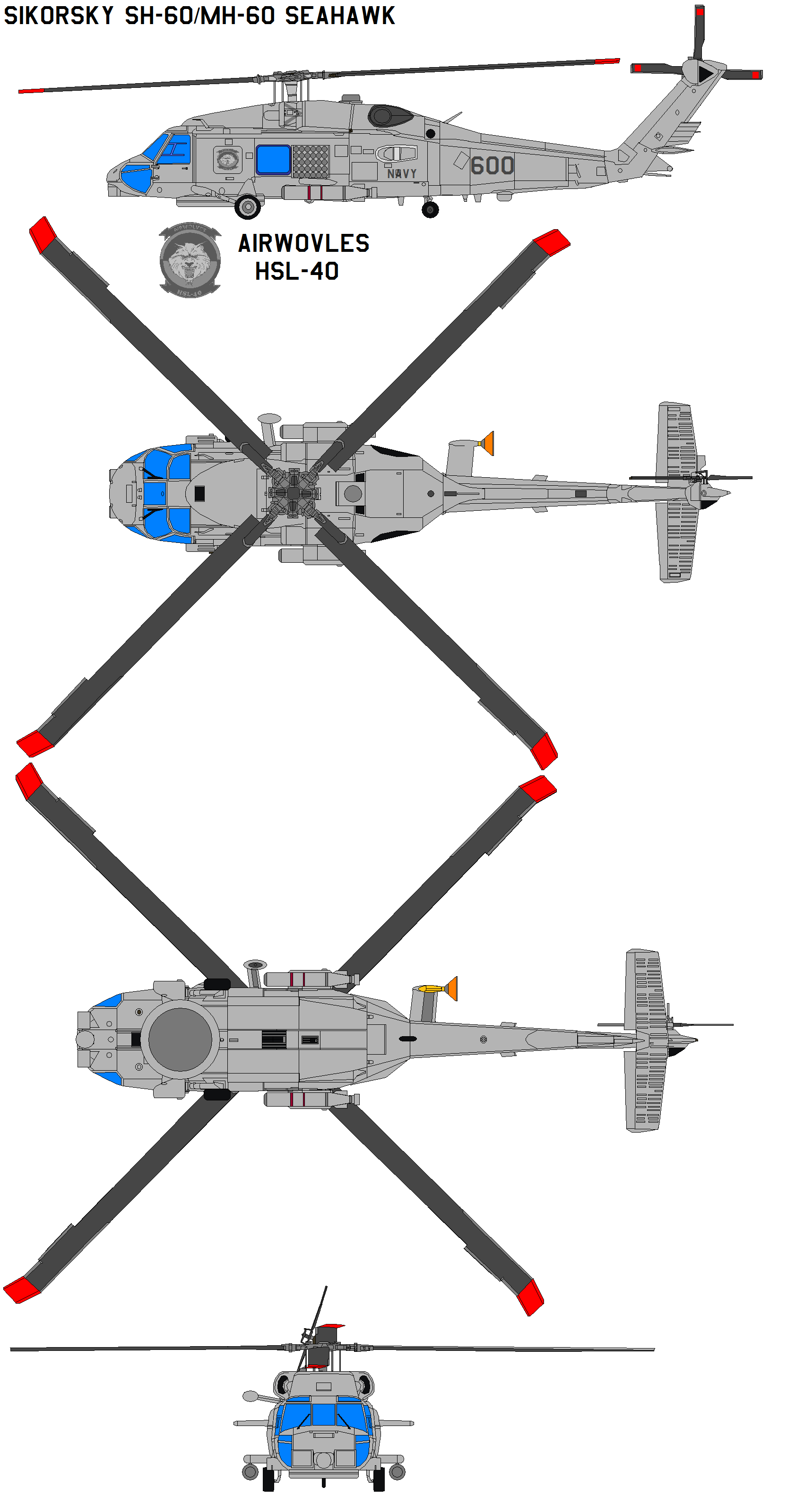 Sikorsky Sh 60 Seahawk By Bagera On Deviantart
