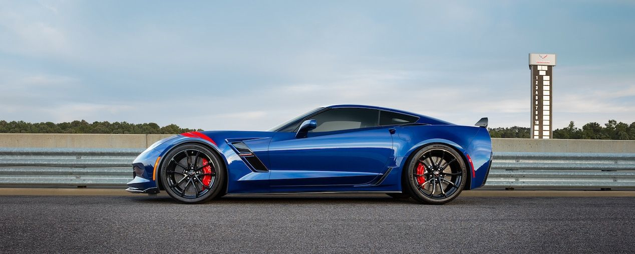 2018 Corvette Grand Sport Sports Car Performance side