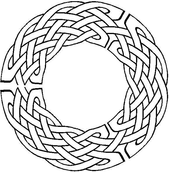 Pin de nadia vallegeas en Arabesque Noeuds Celtiques | Pinterest ...