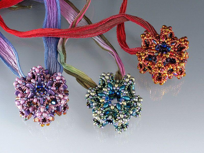 Cosmic Stardust Pendant - Bead&Button Show