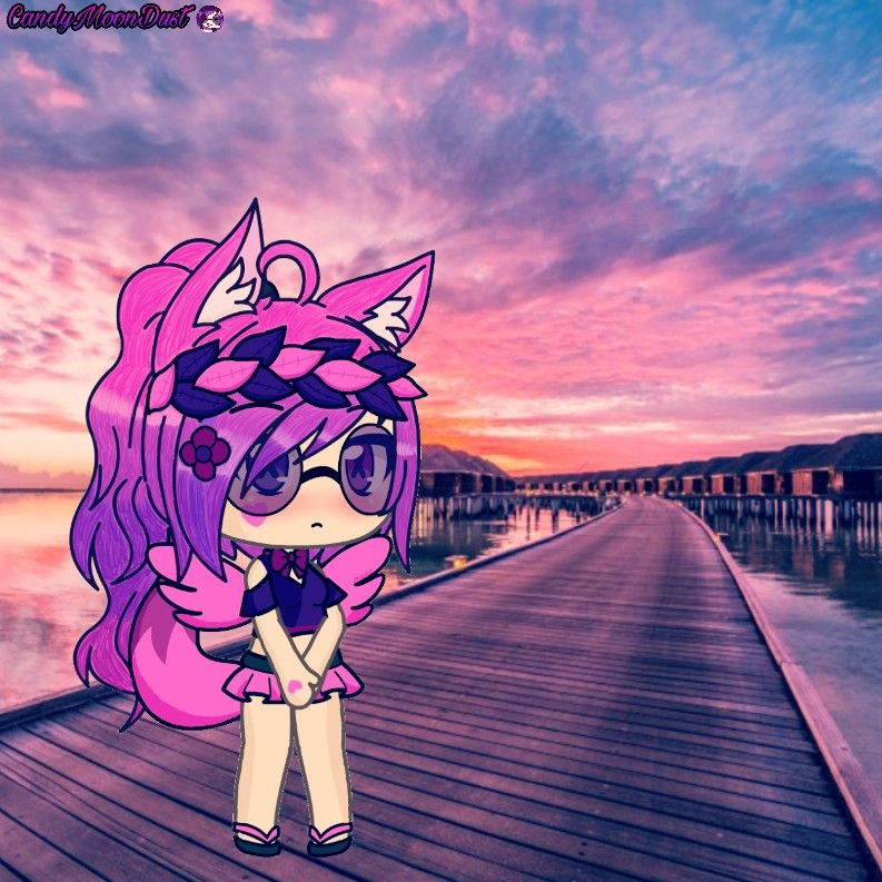 My First Gacha Life Edit P Anime Wolf Girl Cute Anime Chibi Illusion Pictures