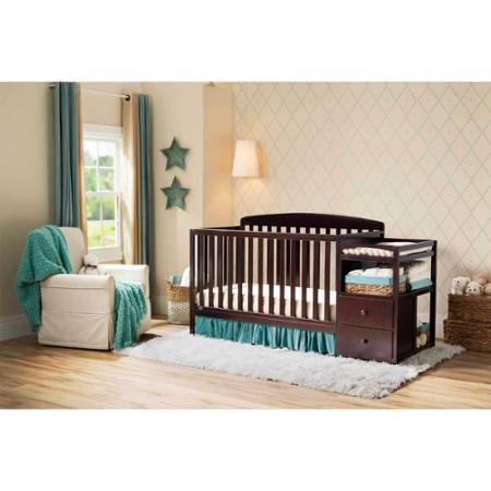 Delta Children S Royal Fixed Side Crib N Changer Choose Your Finish Cribs Baby Cribs Convertible Delta Children