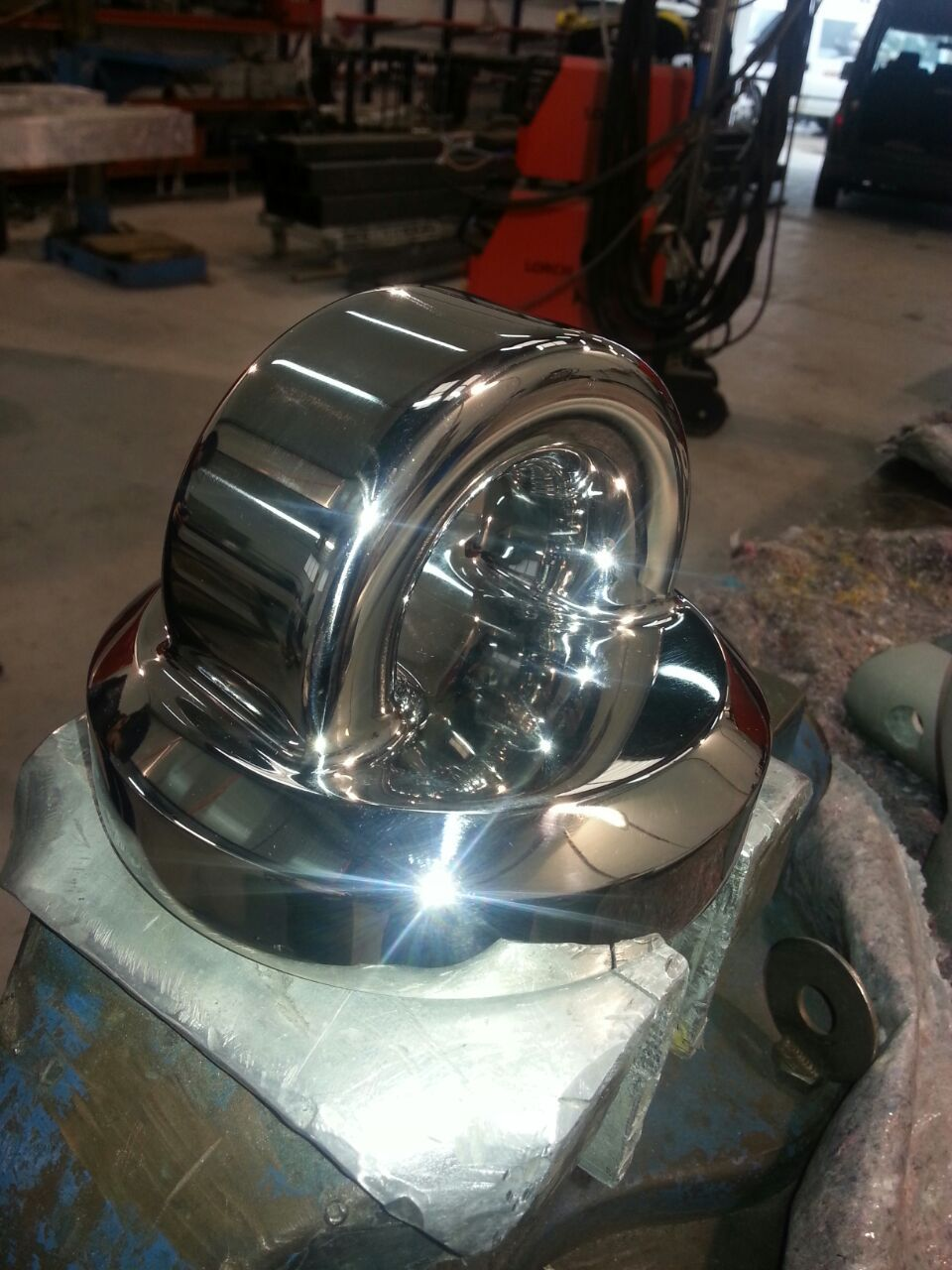 Just look at this beautiful pad eye that @VcMetalwork have fabricated for the #JMVIndustries #sailing #yacht #BlueDiamond.  #Vc are renowned for their expertise in metal fabrication as well as their amazing #polishing and finishing skills. www.vcmetalwork.com #metalfabrication for #superyachts  https://www.facebook.com/vcmetalwork/posts/921506797860983