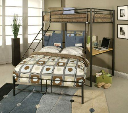 ACME 02030 Winona Twin/Full Bunk Bed with