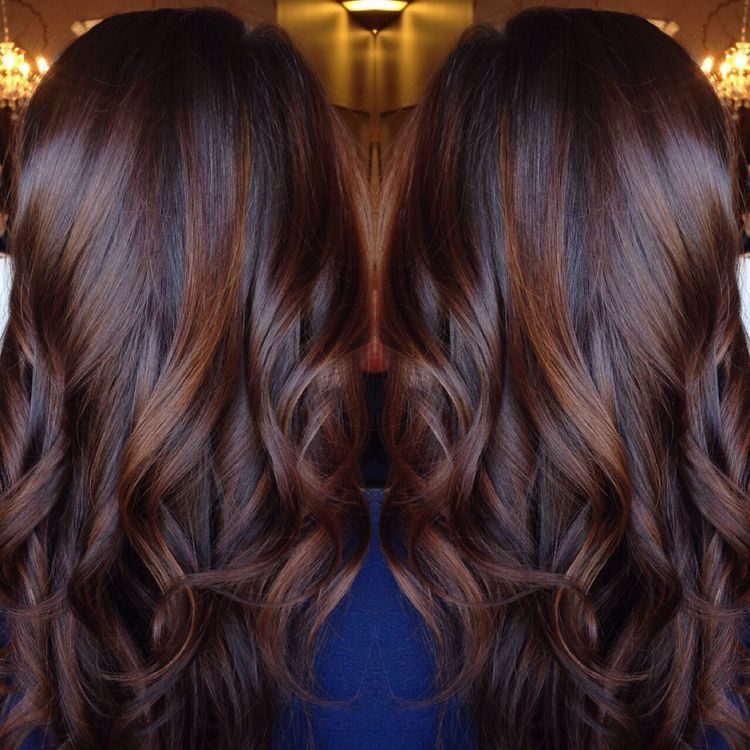 Pin By Christine Haaland On Hair Hair Styles Hair Color Chocolate Brunette Hair Color