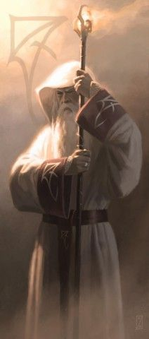 Gandalf the White by Craig Spearing