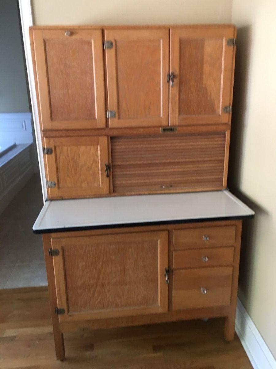 Used Hoosier Cabinet for sale in Dallas | Hoosier cabinet ...