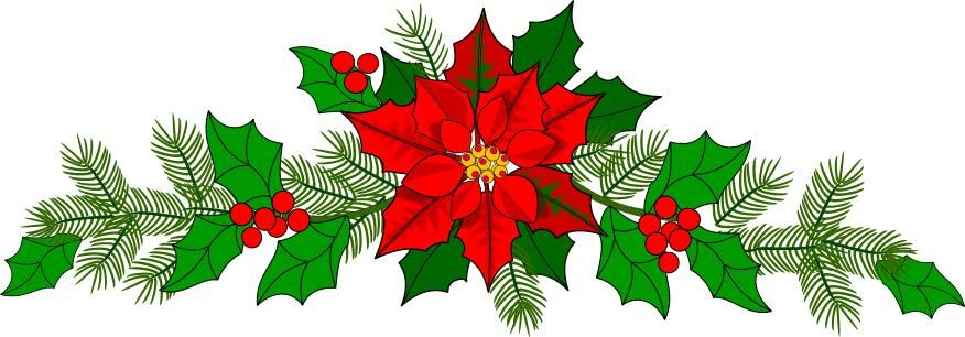Free Christmas Garland Clip Art, Download Free Clip Art, Free Clip Art on  Clipart Library