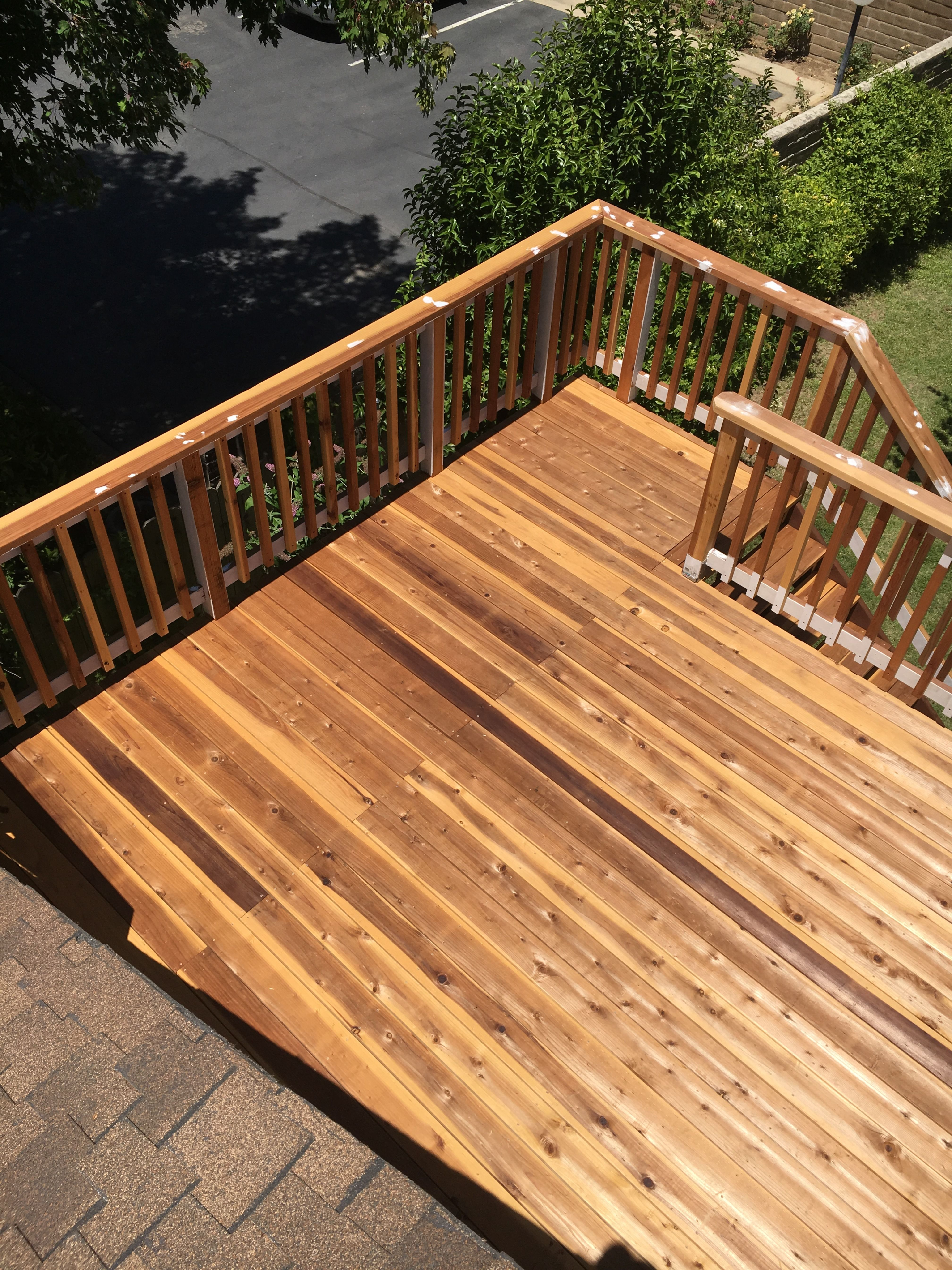 Deck Deck Railings Are Subject To The Same Challenging Weather Conditions That Affect The Decking Boards And They Deck Railings Railing Repair Exterior Wood