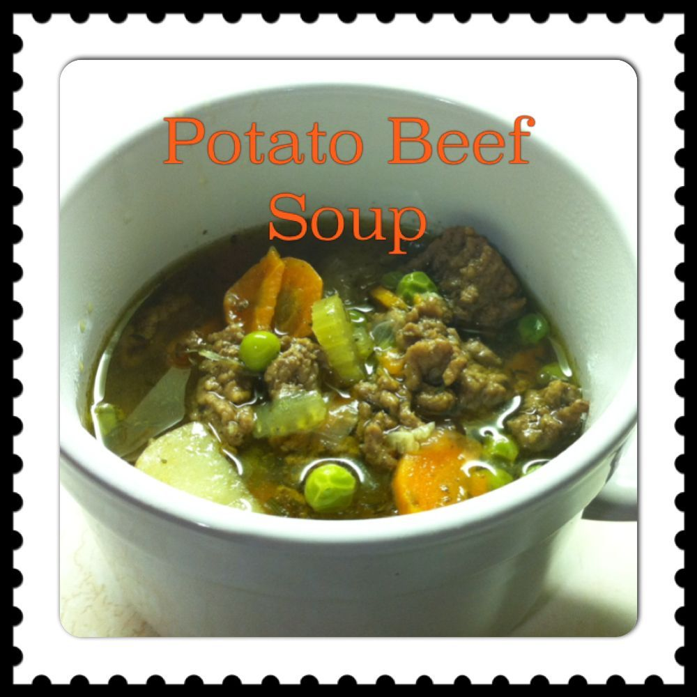 Potato Beef Soup