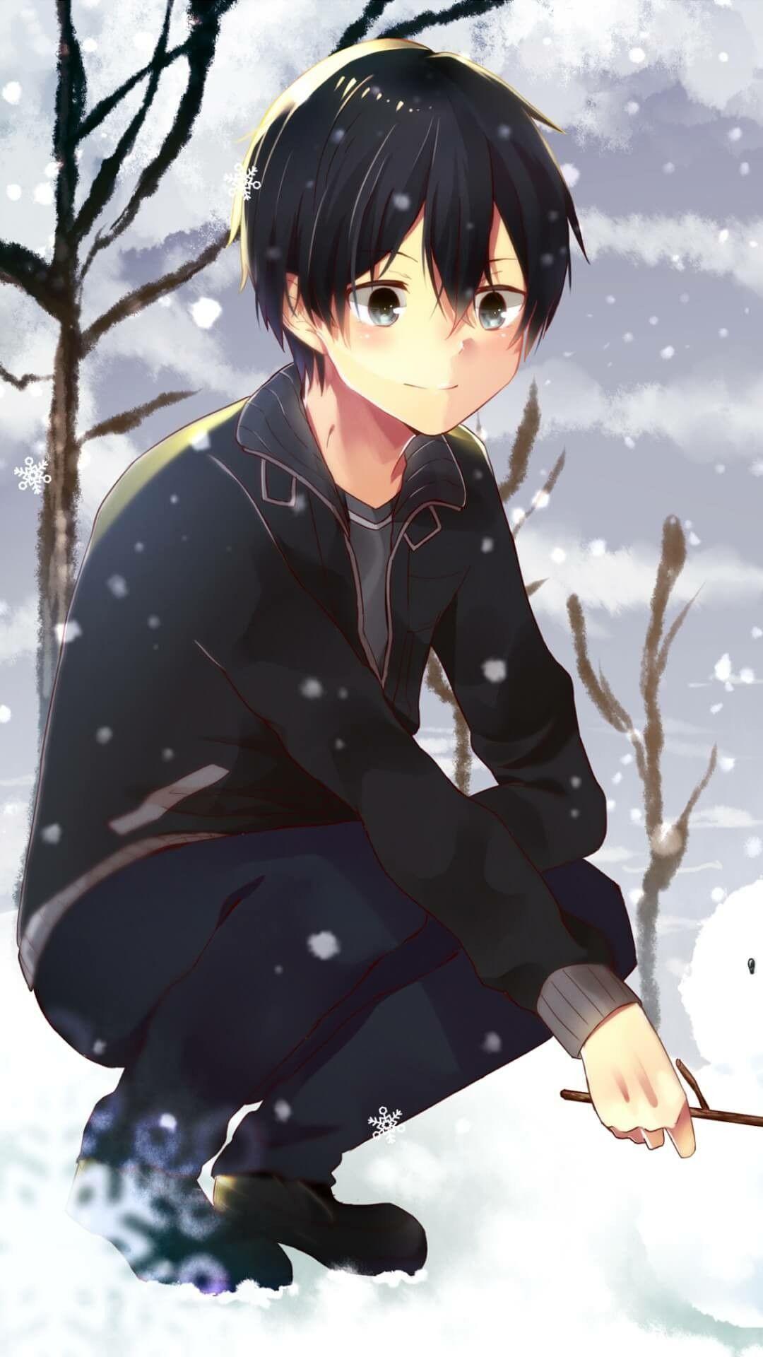 Sword Art Online Kirito Anime Anime Hair Sword Art Online Kirito