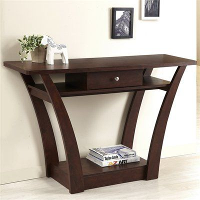 Lita Modern Console Table Your Hallway Entryway Or Living