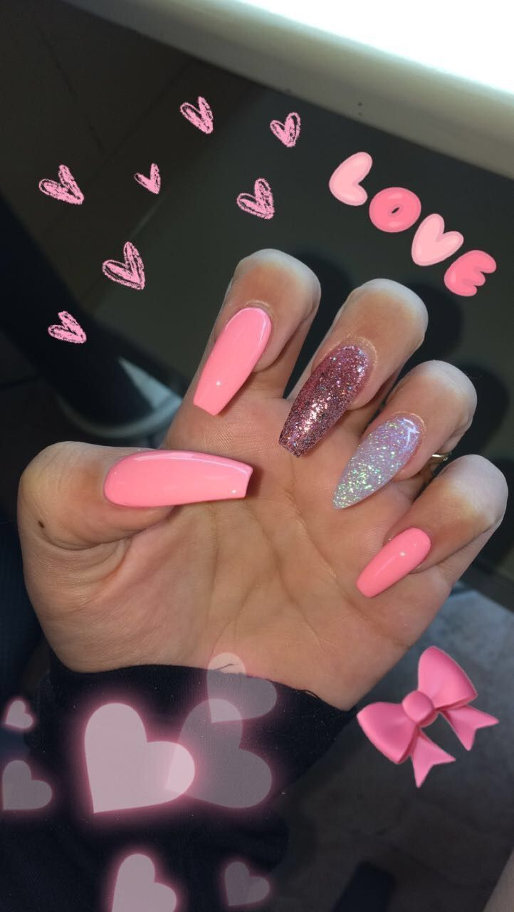 Skin Care Advice For Better Skin Now Pink Acrylic Nails Cute Nails Cute Acrylic Nails