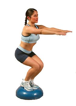 i love using the bosu ball so many exercises you can do