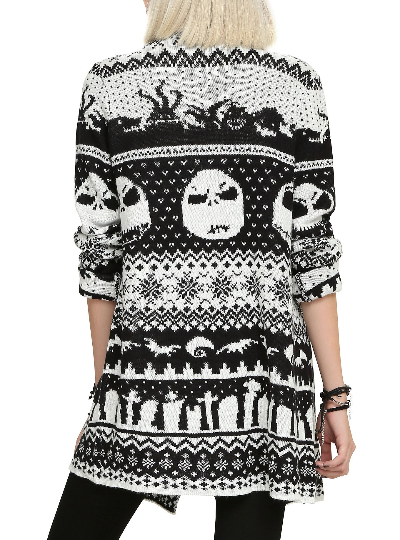 The Nightmare Before Christmas Fair Isle Cardigan | Skeletons In My ...
