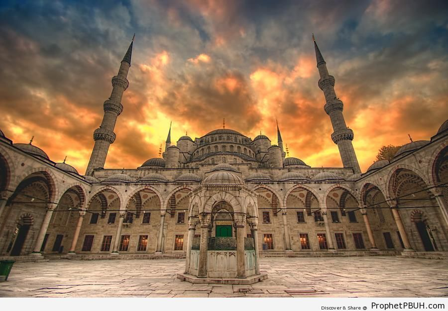Sultan Ahmet Ottoman Imperial Mosque (Istanbul, Turkey) – Islamic ...
