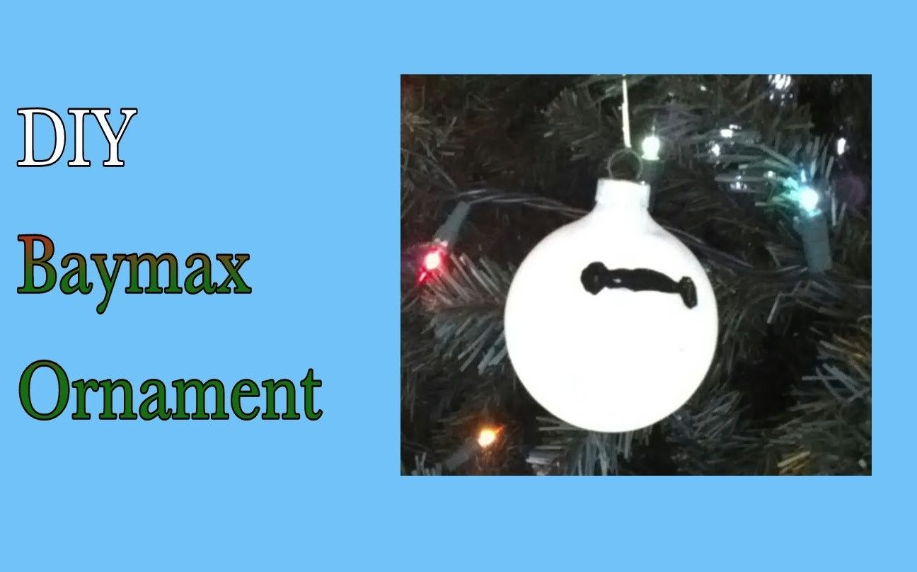 DIY Baymax Christmas Tree Ornament