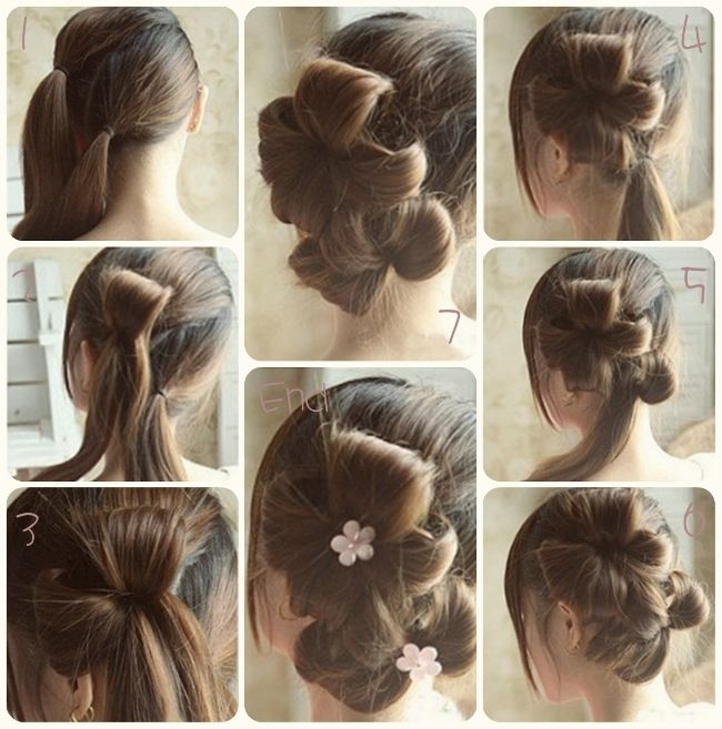 Party Hairstyles For Long Hair Using Step By 2017