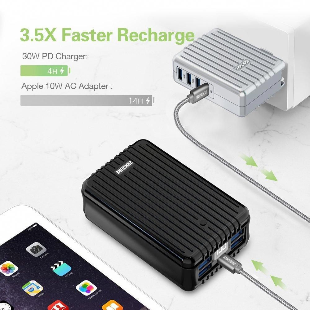 A8pd 26800mah portable charger with usbc inputoutput