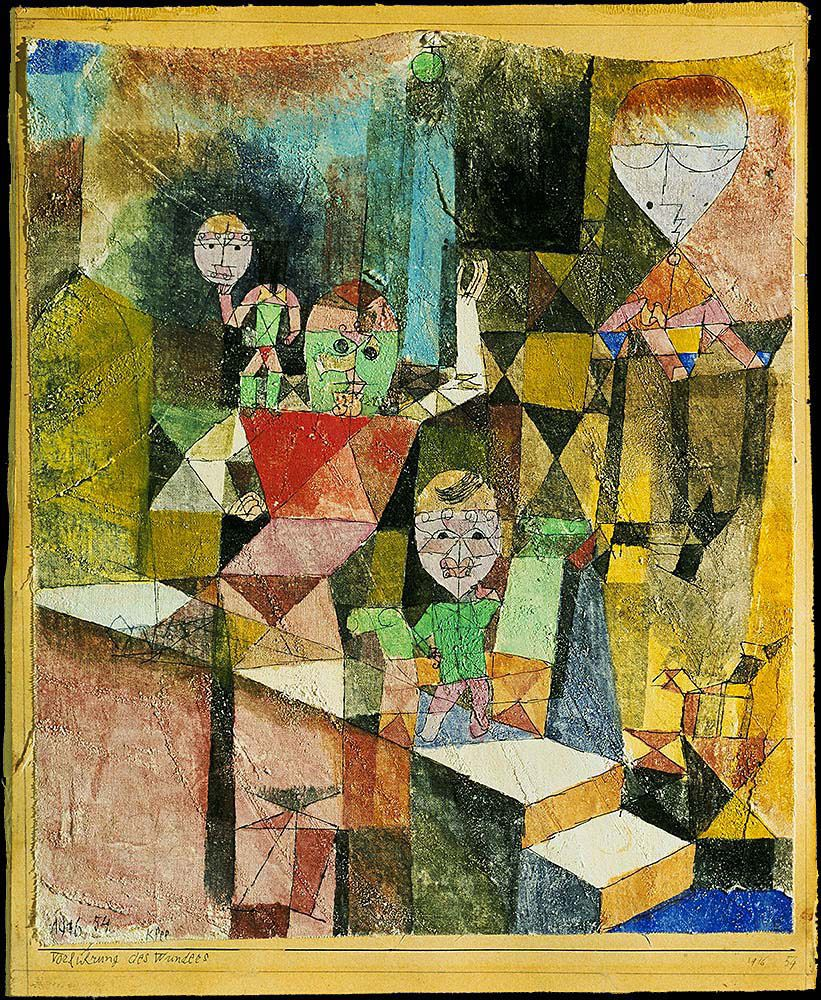 "klee paul introducing the miracle (from <a href=""http://www.oldpainters.org/picture.php?/40183/category/14159""></a>)"