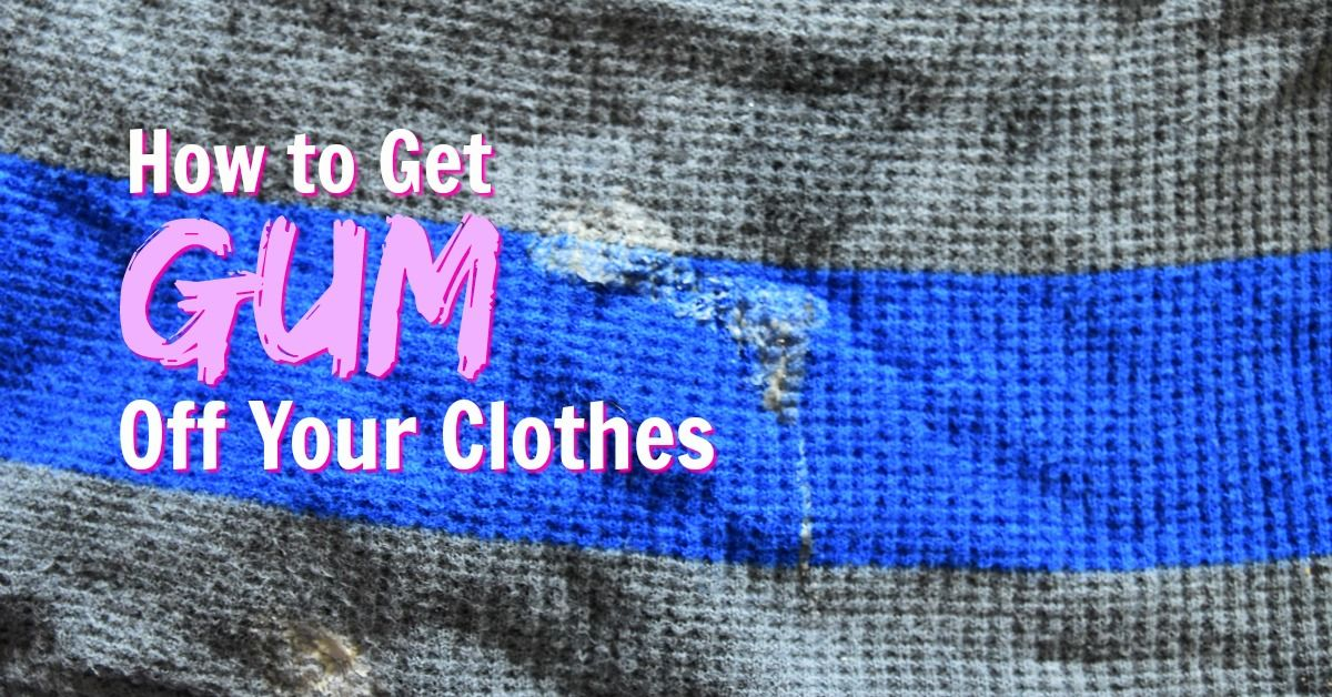 How to Remove Gum from a TShirt with Goo Gone (With