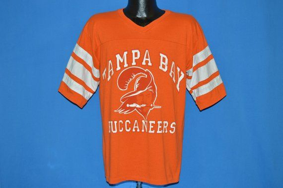 official photos d3f9f a5ee4 80s Tampa Bay Buccaneers Creamsicle Jersey t-shirt Large ...