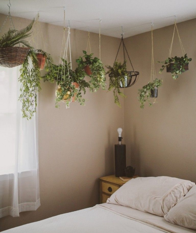 30 Indoor Suspended Planters You Can Make Yourself Bedroom Plants Hanging Planters Indoor Hang Plants From Ceiling
