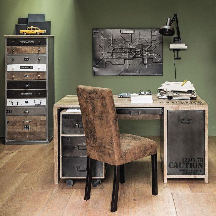 Muebles y decoraci n de estilo industrial loft y f brica for Muebles de efecto industrial