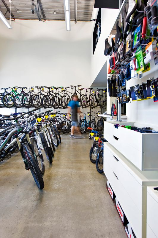 A Contemporary Bicycle Shop Retail Design By Hatch Interior