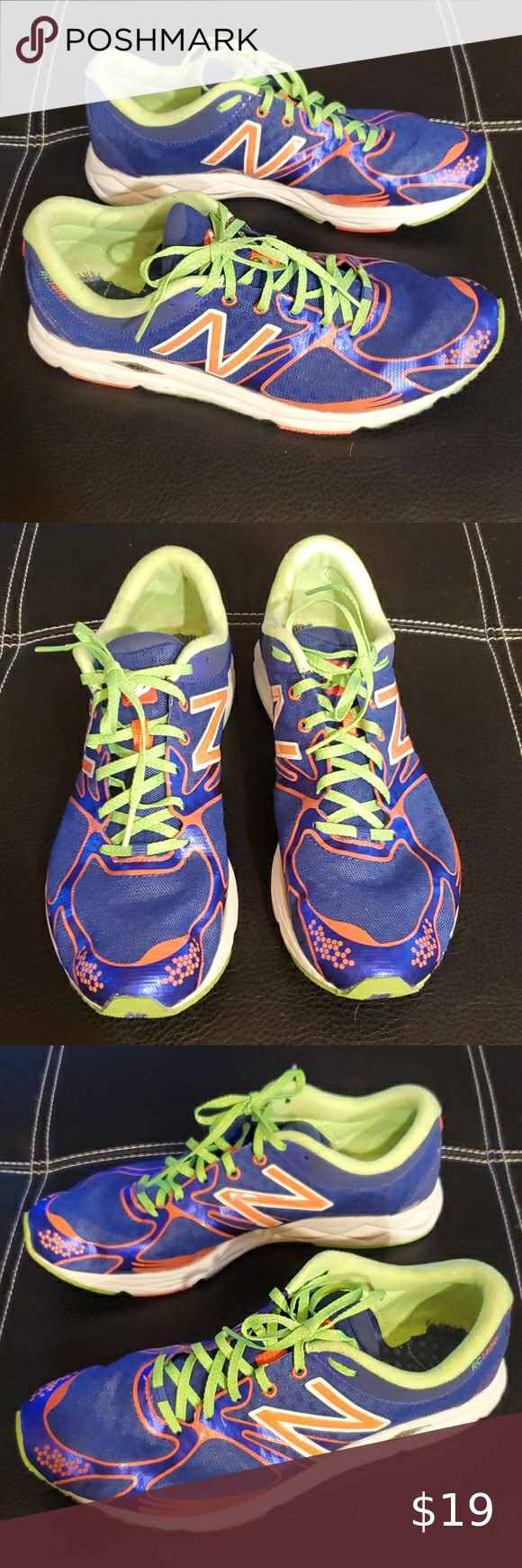 New Balance Rev lite RC 1400 sneakers Very vibrant light weight ...