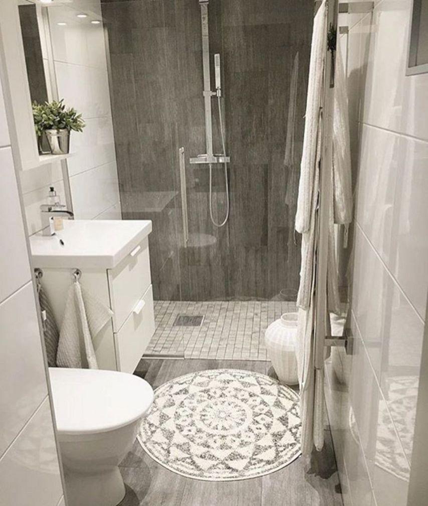 115 Extraordinary Small Bathroom Designs For Small Space 0101 Cuartos De Banos Pequenos Platos De Ducha Planos De Banos Pequenos
