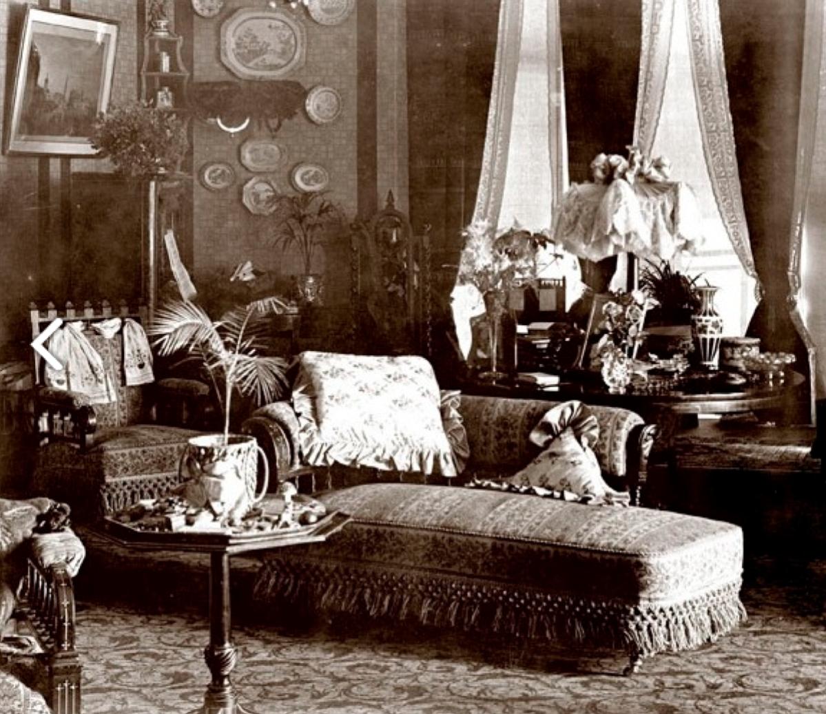 Victorian interiores decoraci n victoriana victoriano for Decoracion de casas victorianas