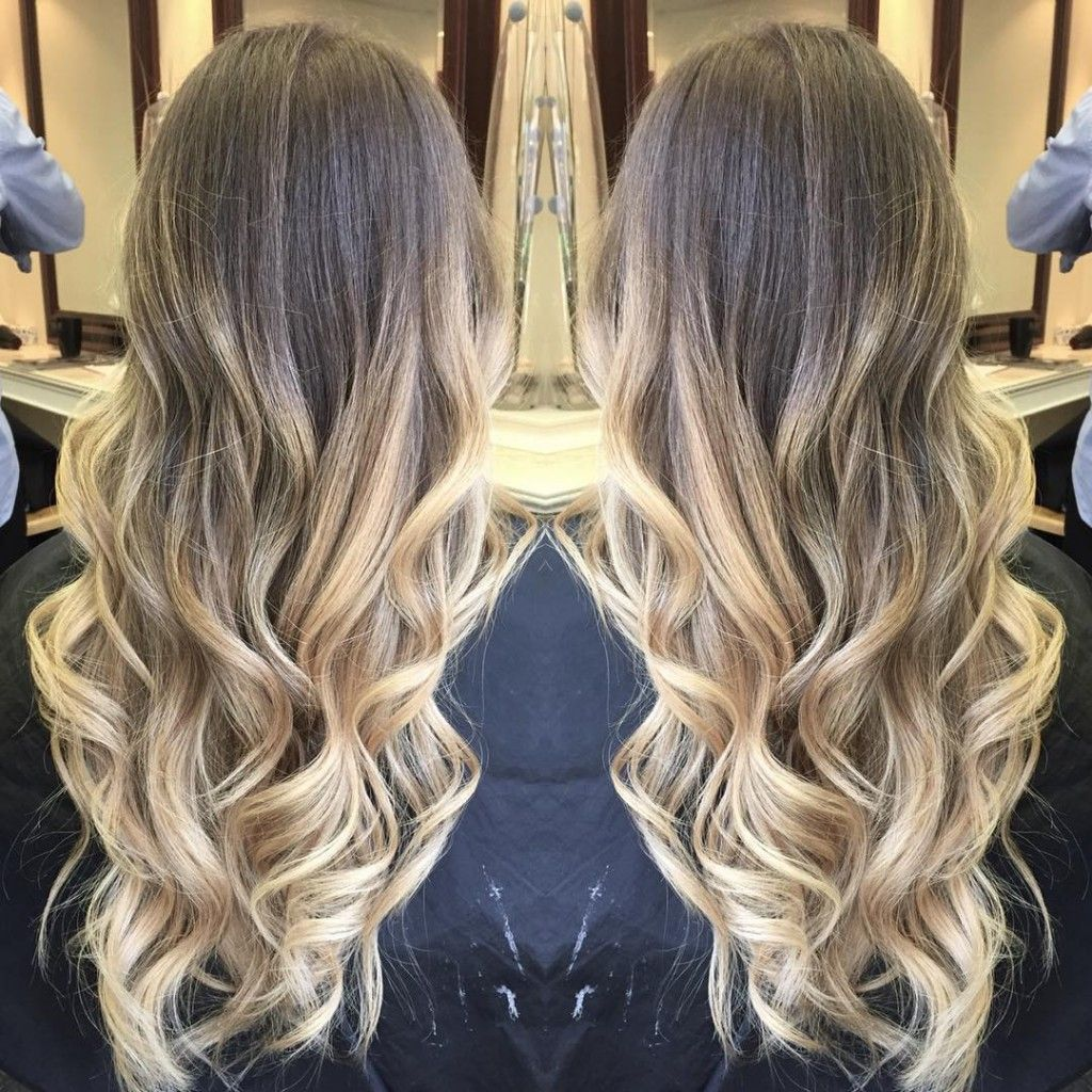 Blonde Balayage Ombre Hair Colors Ideas Balayage Hair Blonde Long Blonde Ombre Balayage Blonde Balayage