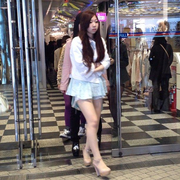 Shibuya 109 spring fashion trends 2012 high heels
