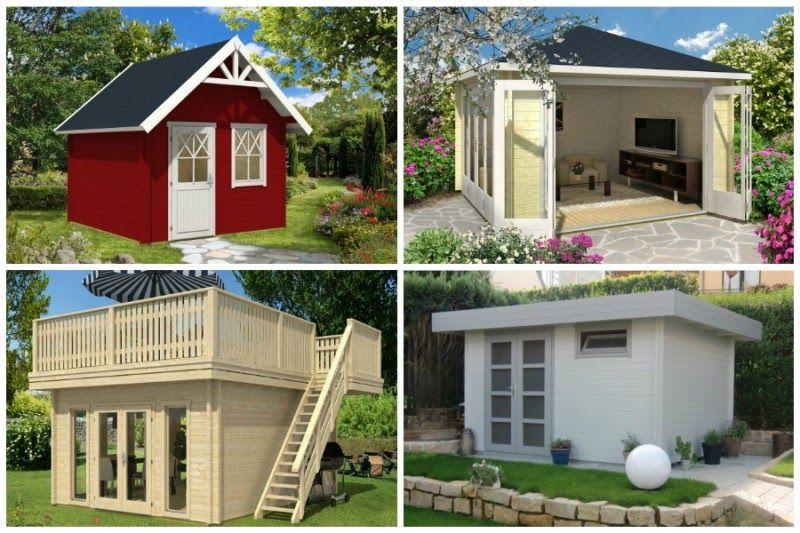 Gartenhaus Satteldach Decken Pergola, Shed