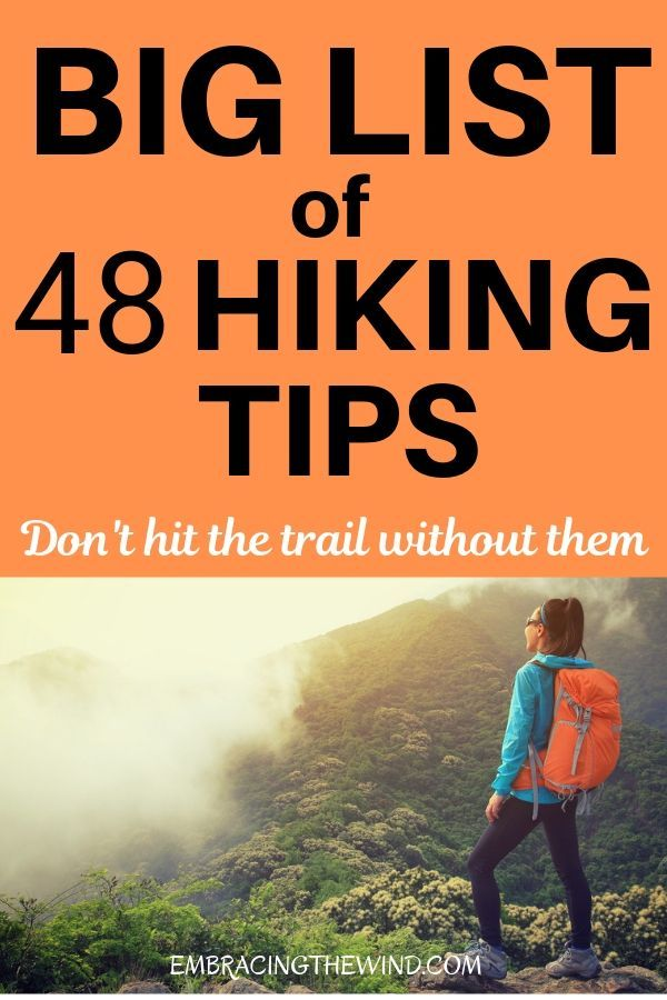 Photo of Don't miss these hiking tips and advice for the trail! What every beginner needs…