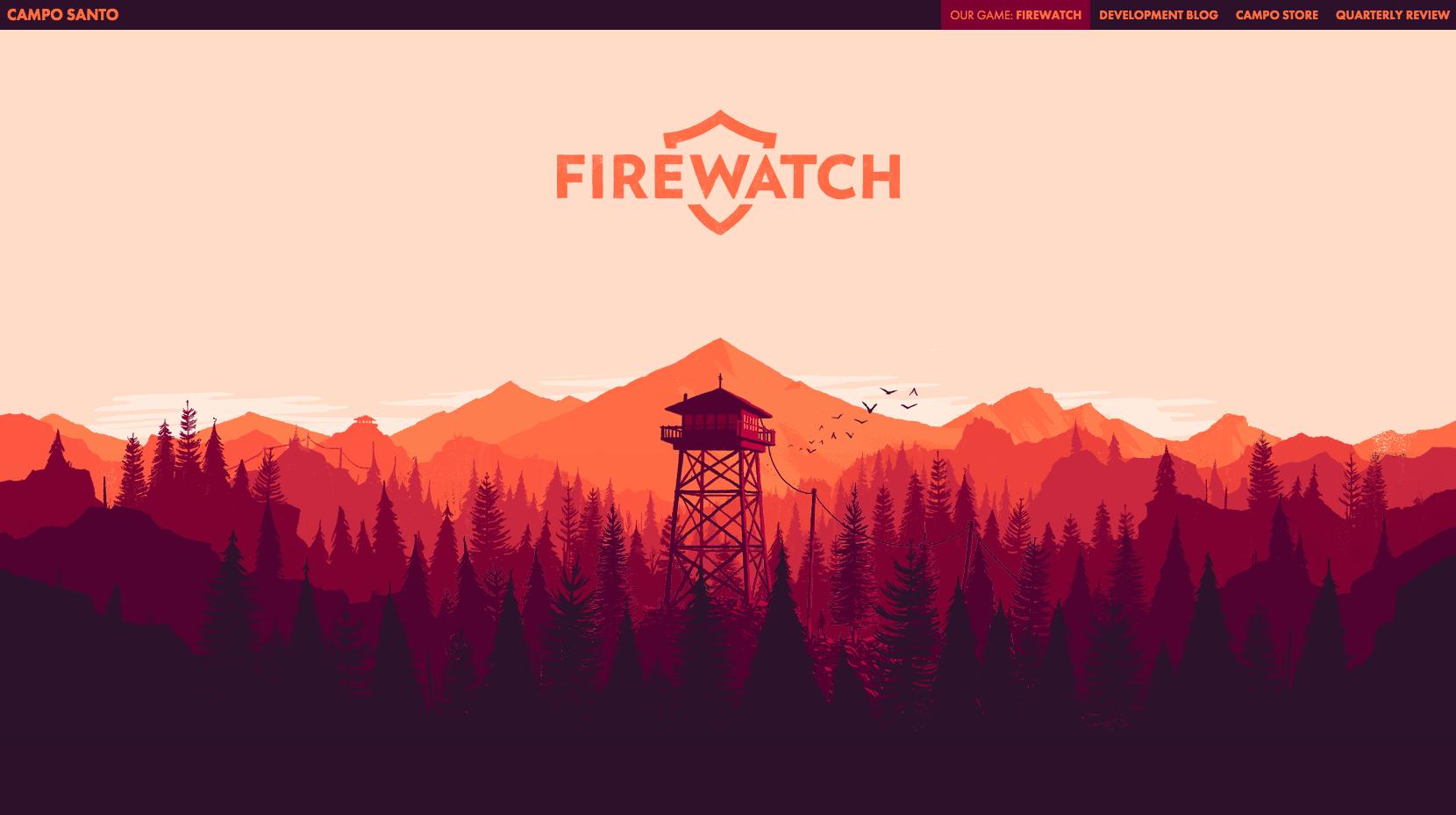 Http Www Firewatchgame Com Desktop Wallpaper Art Minimalist Wallpaper Desktop Wallpapers Tumblr
