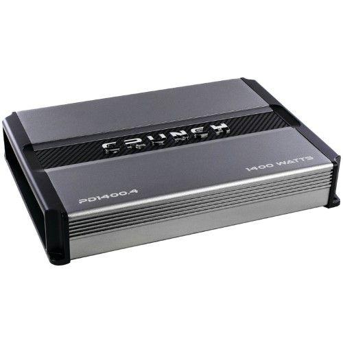 Crunch PD1400.4 1400 Watt 4-Channel Pro Power Car Audio Amplifier Class AB Amp