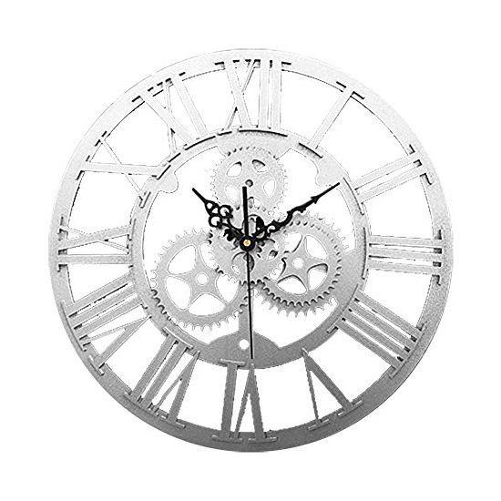 Fjs Vintage Antique Style 30 Cm Horloge Murale Accueil Chambre