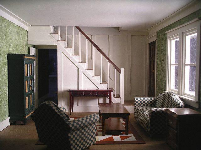 Bungalow Living Room  Dollhouse Room Design Ideas  Pinterest Glamorous Bungalow Living Room Design Decorating Design