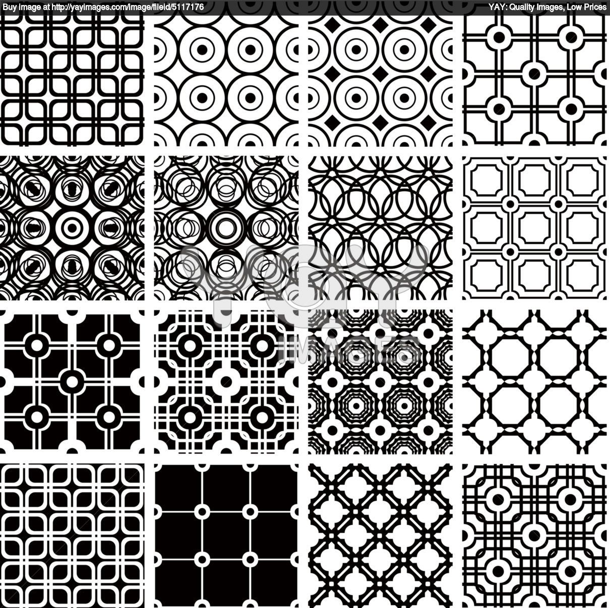 Set Of Geometric Seamless Patterns 4e14f8 Quilt Coloring Pages