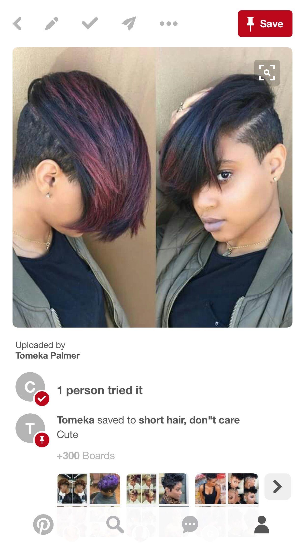 Pin by tomeka palmer on short hair don