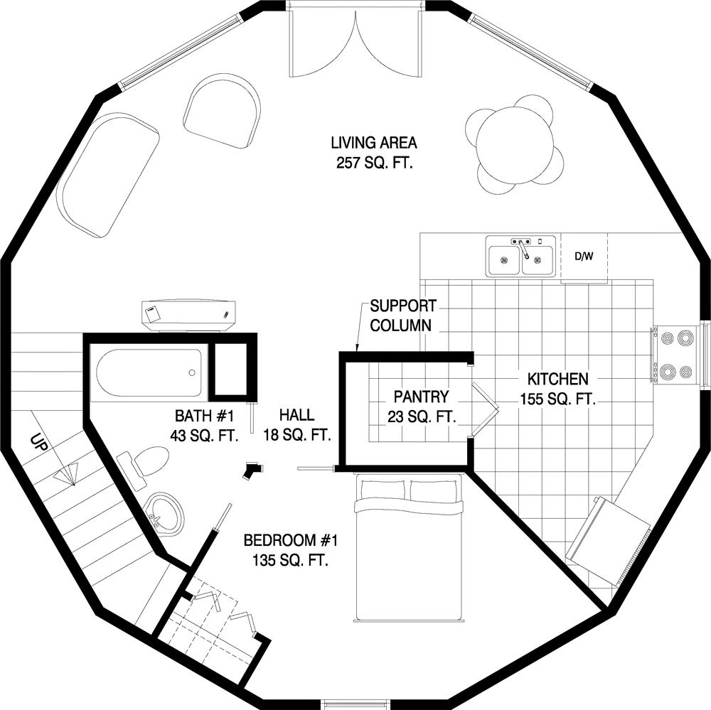 Deltec Homes Floorplan Gallery Round Floorplans
